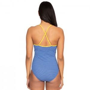 Strój kąpielowy jednoczęściowy damski SOPHIA TRESPASS Blue Moon Stripe