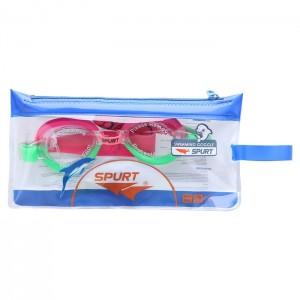 Okulary pływackie dla dzieci 1122 AF 03 SPURT Różowy