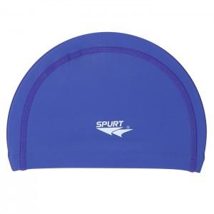 Czepek pływacki silikonowy BE01 SPURT Niebieski