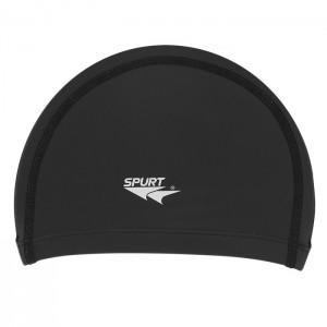 Czepek pływacki silikonowy BK01 SPURT Czarny