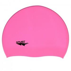 Czepek pływacki silikonowy G-TYPE JUNIOR F227 SPURT Różowy
