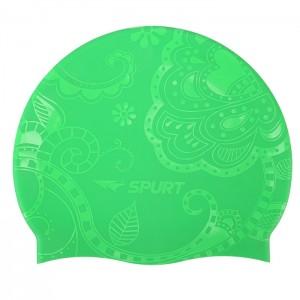 Czepek pływacki silikonowy G-TYPE WOMAN SE24 SPURT Zielony