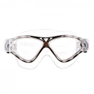 Okulary pływackie półmaska dla seniorów MPT02Y AF 18 SPURT Czarny