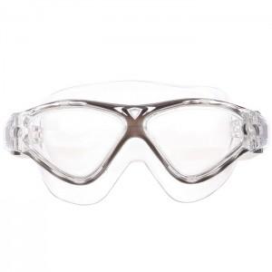 Okulary pływackie półmaska dla seniorów MPT02Y AF 01 SPURT Szary
