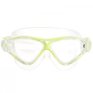 Okulary pływackie półmaska dla seniorów MPT02Y AF 03 SPURT Żółty