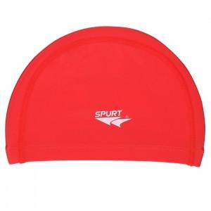 Czepek pływacki silikonowy RD01 SPURT Czerwony
