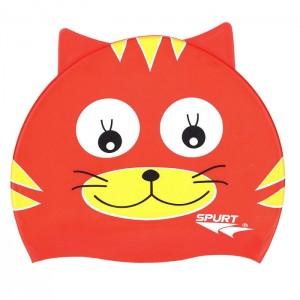 Czepek pływacki silikonowy dziecięcy RED CAT SPURT
