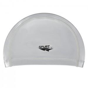 Czepek pływacki silikonowy SR01 SPURT Srebrny