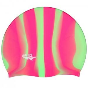 Czepek pływacki silikonowy MI8 SPURT Zebra