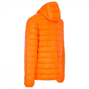 Kurtka puchowa męska pakowana STANLEY TRESPASS Orange