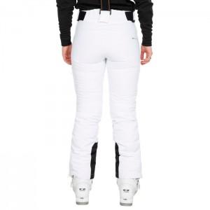 Spodnie narciarskie damskie SYLVIA DLX TRESPASS White