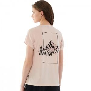 Koszulka damska HOL21-TSD611A 56S OUTHORN