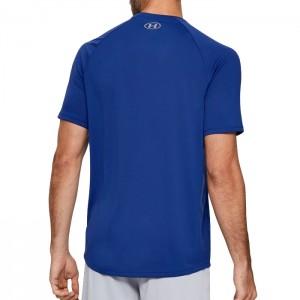 Koszulka techniczna męska UA TECH 2.0 VIBE PRINT 1353185-449 UNDER ARMOUR