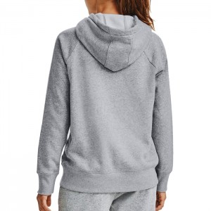 Bluza z kapturem damska RIVAL FLEECE LOGO HOODIE 1356318-035 UNDER ARMOUR