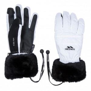 Rękawice narciarskie unisex YANKI TRESPASS White