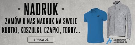 Nadruki na odzież - HurtowniaMarkowa.pl