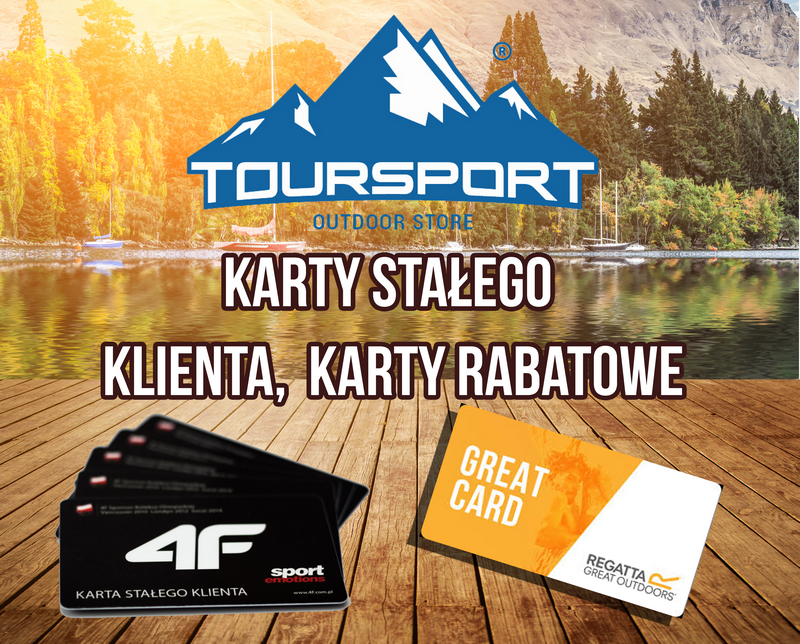 KARTA RABATOWA  REGATTA, 4F, TourSport