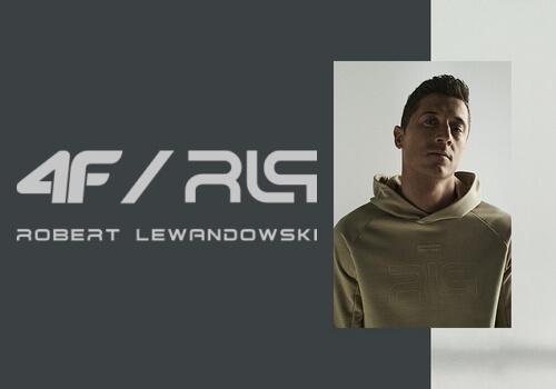 Sportowy styl z nową kolekcją 4f – poleca Robert Lewandowski