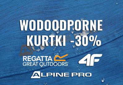 KURTKI WODOODPORNE -30% !!!