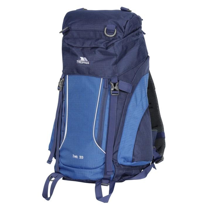 Plecak turystyczny 33L TREK 33 TRESPASS Electric Blue